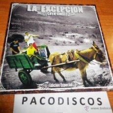 CDs de Música: LA EXCEPCION ¡CATA CHELI ! OYE COMPAI / CHACHO / NOS LATE FUERTE CD SINGLE PROMO CARTON 3 TEMAS 2004. Lote 42030375