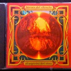 CDs de Música: HÉROES DEL SILENCIO - EL ESPÍRITU DEL VINO - CD. Lote 42034008
