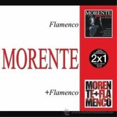 CDs de Música: ENRIQUE MORENTE * 2CD * MORENTE + FLAMENCO * DIGIPACK * PRECINTADO. Lote 42064293