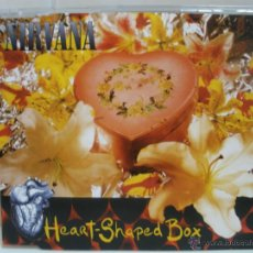 CDs de Música: NIRVANA ~ HEART SHAPED BOX ~ CD SINGLE ~ 3 TRACKS. Lote 42081308