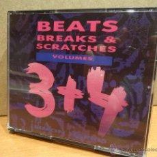 CDs de Musique: SIMON HARRIS. BEATS BREAKS & SCRATCHES. VOLUMES 3 + 4. DOBLE CD. BUENA CALIDAD.. Lote 42087991