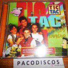 CDs de Música: TIC TAC DIBUJOS ANIMADOS CD ALBUM 1996 MUSICA INFANTIL PRODUCIDO SHERPA BARON ROJO CONTIENE 12 TEMAS. Lote 42099839