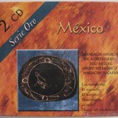 CD de Música: MEXICO - MARIACHI AMERICA DE ALFREDO SERNA - DUO MEZCLA - MARIACHI YUCATAN - 2 CD 'S - SERIE ORO. Lote 42100636
