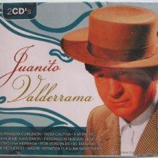 CDs de Música: JUANITO VALDERRAMA - 2 CD - 24 CANCIONES - EL EMIGRANTE / CRISTO DE LOS FAROLES - NUEVO PRECINTADO. Lote 42138352