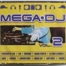 CD de Música: MEGA DJ VOL 2 - 4 CD 'S - MOLOKO / FRAGMA / JANE FOSTIN / DJ FRED / DJ KOLESKY - CD NUEVOS. Lote 42138570