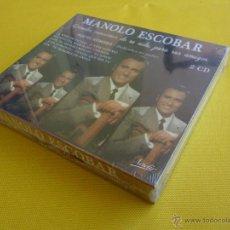 CDs de Música: MANOLO ESCOBAR GRANDES CANCIONES DE SU VIDA - 2 CD´S - PRECINTADA. Lote 42142635