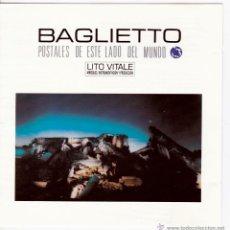 CDs de Música: JUAN CARLOS BAGLIETTO - POSTALES DE ESTE LADO DEL MUNDO - CD. Lote 42149478