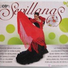 CDs de Música: SEVILLANAS - 2 CD 'S BOX - JUSTO VERA - EL SEVILLANO - GRUPO ALHAMBRA - NUEVO PRECINTADO. Lote 42150990