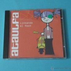 CDs de Música: LINKANDO EL ROCK. HÉROES DEL SILENCIO-ELEFANTES-TAHURES ZURDOS-ILEGALES-LOQUILLO. Lote 42157098