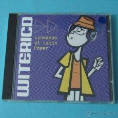 CDs de Música: LINKANDO EL LATIN POWER. BUNBURY-AMPARANOIA-CARLOS JEAN-MALABAR-FUNDACION TONY MANERO. Lote 42157164