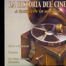 CDs de Música: ***LA HISTORIA DEL CINE A TRAVES DE LA MÚSICA***. Lote 42133757