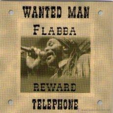 CDs de Música: RAS FLABBA - MAXI CD - 4 TRACKS - WANTED MAN + 3 - REGGAE - MADE IN GERMANY.. Lote 42171202