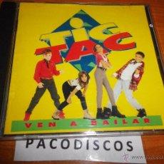 CDs de Música: TIC TAC VEN A BAILAR CD ALBUM 1995 MUSICA INFANTIL PRODUCIDO SHERPA BARON ROJO CONTIENE 10 TEMAS. Lote 42228119