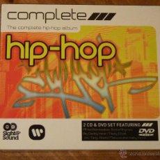 CDs de Música: HIP HOP COMPLETE , CD PRECINTADO + DVD. Lote 42234672