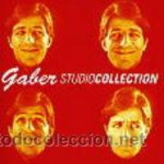 CDs de Música: GIORGIO GABER - GABER STUDIO COLLECTION 2 CD'S , 38 TEMAS , ITALY IMPRT EMI 2001 PERFECTO ESTADO. Lote 42251446