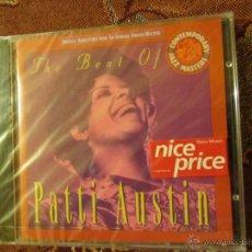 CDs de Música: CD DE PATTI AUSTIN-TITULO THE BEST OF- CONTIENE 16 TEMAS- ¡¡¡¡ESTA PLASTIFICADO DE FCA.¡¡¡. Lote 42256482