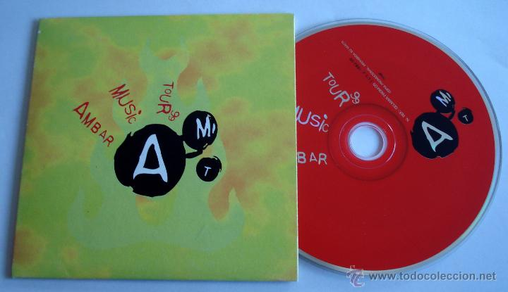 CD PROMOCIONAL AMBAR MUSIC TOUR 99. GRUPOS ARAGONESES. POP ROCK. (Música - CD's Rock)
