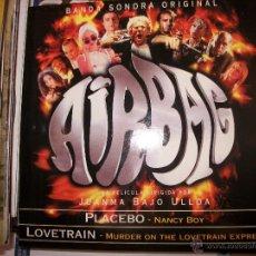 CDs de Música: PROMO MCD AIRBAG – PLACEBO – NANCY BOY – LOVETRAIN – OST BSO. Lote 42281385