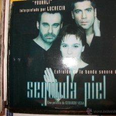 CDs de Música: PROMO MCD SEGUNDA PIEL – OST BSO – LUCRECIA. Lote 153239648