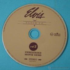 CDs de Música: ELVIS, CLOSE UP. CD 2 UNRELEASED MOVIE GEMS. SOLO CD SIN CARÁTULA. Lote 42295878