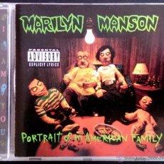 CDs de Música: MARILYN MANSON - PORTRAIT OF AN AMERICAN FAMILY - CD. Lote 42298546