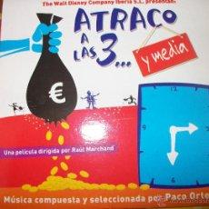 CDs de Música: PROMO MCD ATRACO A LAS TRES... Y MEDIA – OST – BSO – PACO ORTEGA. Lote 42313245