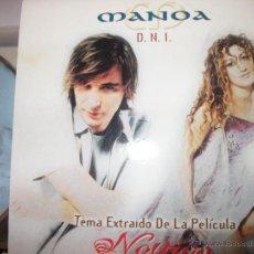 CDs de Música: PROMO MCD NOVIOS – MANOA – DNI – OST – BSO. Lote 42313260