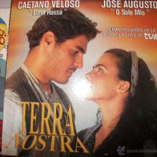 CDs de Música: PROMO MCD TERRA NOSTRA – OST BSO – TOQUINHO – FAMILIA LIMA – AGNALDO RAYOL. Lote 42313275