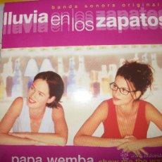 CDs de Música: PROMO MCD LLUVIA EN LOS ZAPATOS – PAPA WEMBA – OST – BSO – SHOW ME THE WAY. Lote 42313375
