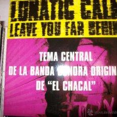CDs de Música: PROMO MCD EL CHACAL – LUNATIC CALM – LEAVE YOU FAR BEHIND – OST – BSO. Lote 42313553