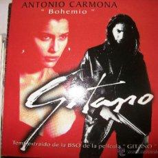 CDs de Música: PROMO MCD GITANO – ANTONIO CARMONA – BOHEMIO – OST – BSO. Lote 42313563