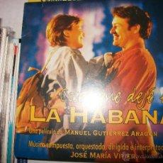 CDs de Música: PROMO MCD COSAS QUE DEJE EN LA HABANA – JOSE MARIA VITIER – OST – BSO. Lote 42313660