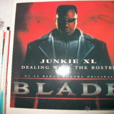 CDs de Música: PROMO MCD BLADE – JUNKIE XL – DEALING WITH THE ROSTER – OST – BSO. Lote 42313692