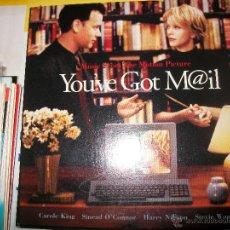 CDs de Música: PROMO MCD YOU'VE GOT MAIL – TIENES UN EMAIL – OST – BSO – SINEAD O'CONNOR – STEVIE WONDER. Lote 42313707