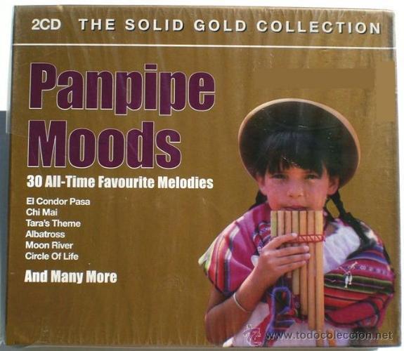 PANPIPE MOODS * 2 CD * LOS MEJORES TEMAS EN FLAUTA DE PAN * BOX PRECINTADA (Música - CD's World Music)