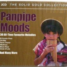 CDs de Música: PANPIPE MOODS * 2 CD * LOS MEJORES TEMAS EN FLAUTA DE PAN * BOX PRECINTADA. Lote 42314980