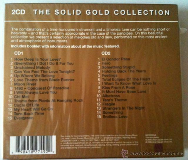 CDs de Música: PANPIPE MOODS * 2 CD * Los mejores temas en flauta de pan * Box precintada - Foto 4 - 42314980