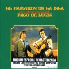 CDs de Música: CAMARÓN CON PACO DE LUCÍA * CD * SON TUS OJOS 2 ESTRELLAS * LTD REMASTERIZADO * PRECINTADO. Lote 42318346