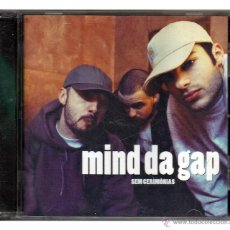 CD de Música: MIND DA GAP - 'SEM CERIMÓNIAS' (CD). Lote 42320252
