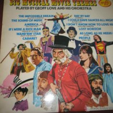 CDs de Música: =Aº LP-VINILO-GRAN BRETAÑA-GEOFF LOVE-BIG MUSICAL MOVIE THEMES-EMI-12 TEMAS-BUEN ESTADO. Lote 42325409