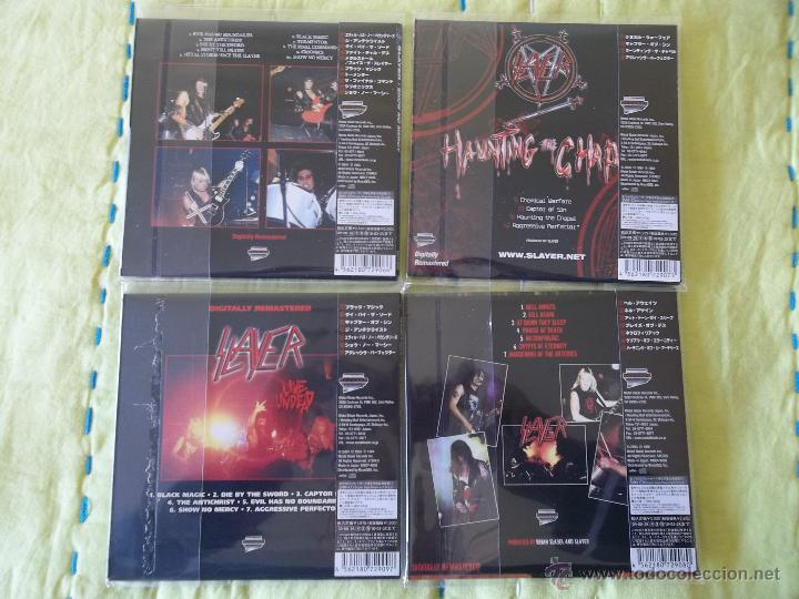 CDs de Música: SLAYER Show No Mercy Haunting The Chapel Hell Awaits Live Undead - Foto 2 - 42326034