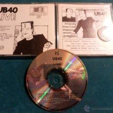 CDs de Música: UB 40 - LIVE - CD 10 TEMAS - VIRGIN 1983 (UB40). Lote 42326173