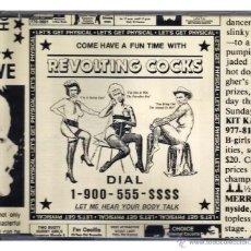 CDs de Música: REVOLTING COCKS - 'LET'S GET PHYSICAL' (CD SINGLE). Lote 42364962