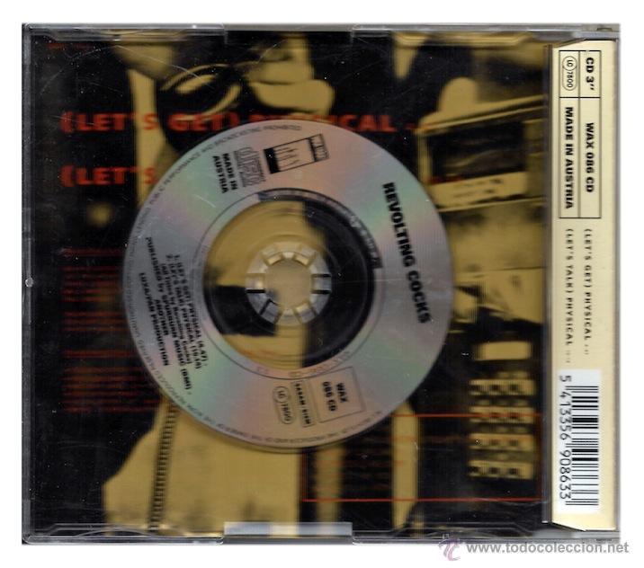 CDs de Música: Revolting Cocks - Lets Get Physical (CD Single) - Foto 2 - 42364962