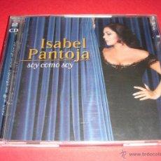CDs de Música: ISABEL PANTOJA / SOY COMO SOY / GRANDES ÉXITOS / LO MEJOR DE / 2 CD. Lote 42423549