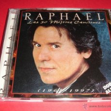 CDs de Música: RAPHAEL / LAS MEJORES 30 CANCIONES - (1964 - 1997) / GRANDES ÉXITOS / LO MEJOR DE / 2 CD. Lote 42423841