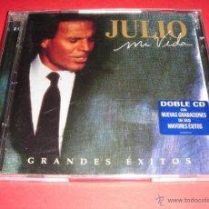 CDs de Música: JULIO IGLESIAS / MI VIDA / COLUMBIA / GRANDES ÉXITOS / LO MEJOR DE / 2 CD. Lote 42434260