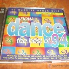 CDs de Música: NOW DANCE THE BEST OF 94. 40 MASSIVE DANCE HITS. 2 CD SPECIAL VALUE. EDICION INGLESA. Lote 42448858