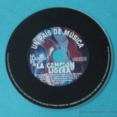 CDs de Música: CD LA LLAMADA DE LA CANCIÓN LIGERA. UN PAÍS DE MÚSICA. SIN CARÁTULA. Lote 42458059
