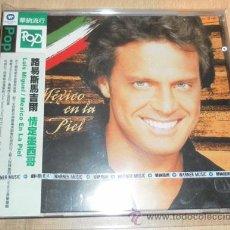 CDs de Música: CD LUIS MIGUEL - MEXICO EN LA PIEL JAPON JAPAN JAPONES EL SOL DE MEXICO ORIGINAL RANCHERAS OBI. Lote 42465960